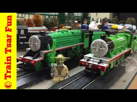 HORNBY HENRY vs BACHMANN HENRY- World's Strongest and Fastest Trains