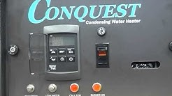 PVi Conquest Water Heater Startup