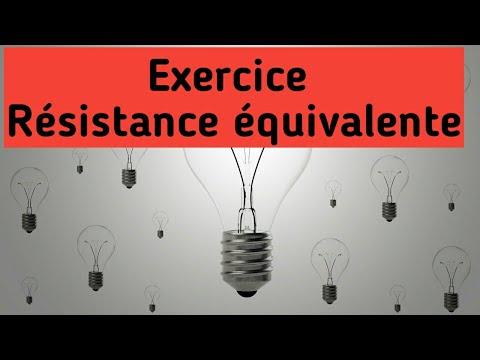 CC  4  :  Exercice Sur Les Résistances équivalentes  Darija