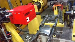 Chassis Body Marking Automation using PLC, Cylinders and Sensors -EtchON