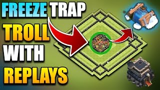 NEW 'EPIC' TOWN HALL 9 TROLL BASE WITH FREEZE TRAP| TH9 TROPHY BASE DESIGN | Clash Of Clans