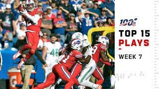 Top 15 Plays from Week 7 | NFL 2019 Highlights