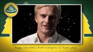 Team Lotus Christmas message