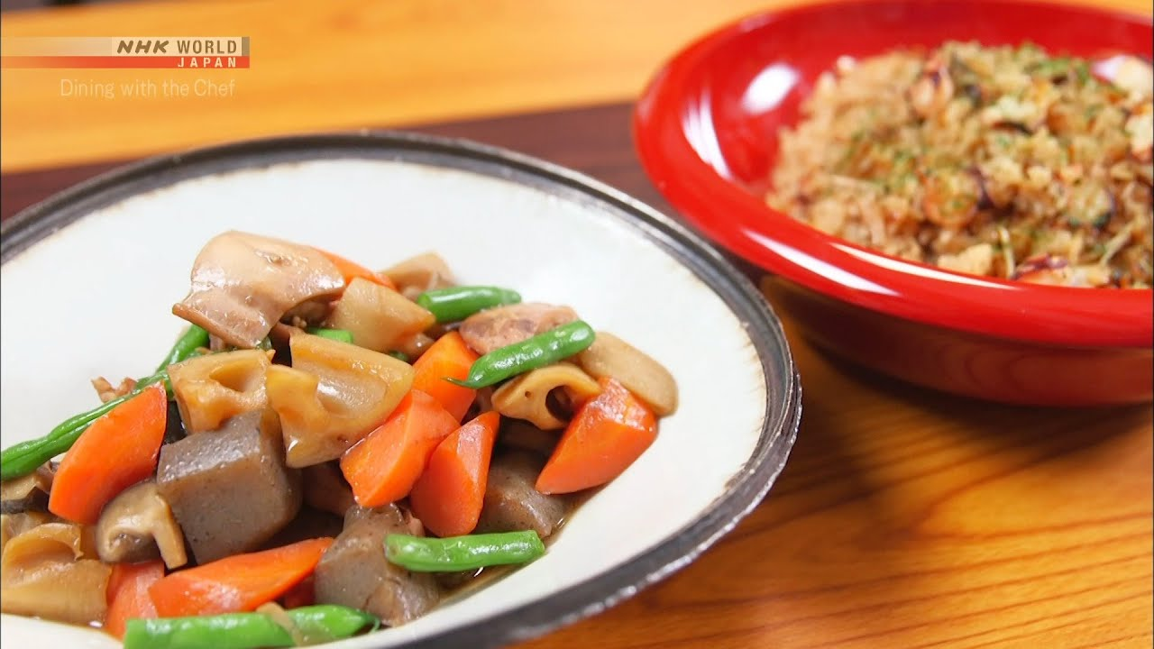 Photo of Chef Saito's Chikuzen-ni [Japanese Cooking] – Dining with the Chef – video