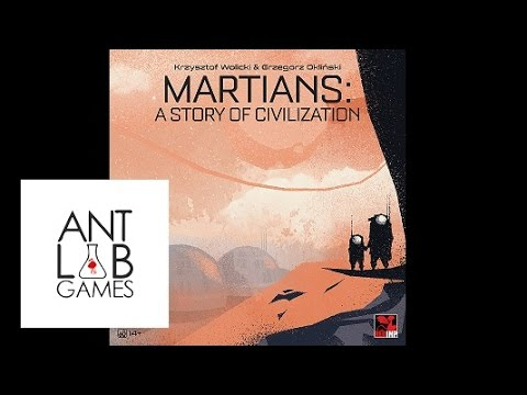 Martians: A Story of Civilization Playthrough Review