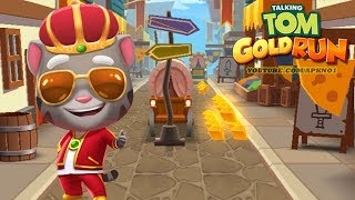 Talking Tom Gold Run Android Gameplay - King Tom in the Medieval Side World