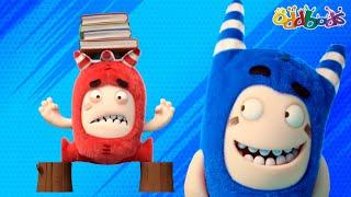 Oddbods | NEW | HOME GAMES CHALLENGE | Funny Cartoons For Kids
