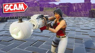 """I """"DROPPED"""" my WATER Jacko... but I DIDN'T (INSANE new SCAM) - Fortnite"""