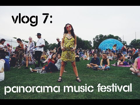 Vlog 7: Panorama Music Festival NYC 2017 (Frank Ocean, Solange, MGMT)