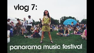vlog 7 panorama music festival nyc 2017 frank ocean solange mgmt