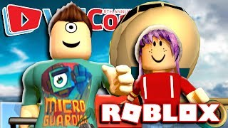 GOING TO VIDCON IN ROBLOX w/ RadioJH Games!!!
