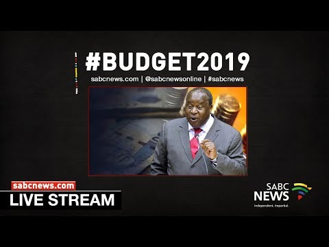 Tito Mboweni delivers Budget Speech 2019