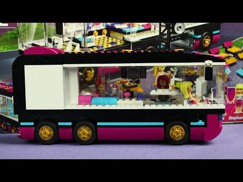 Pop Star Tour Bus / Поп звезда: гастроли - Lego Friends - 41106