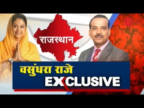 Exclusive: In conversation with Rajasthan CM Vasundhara Raje