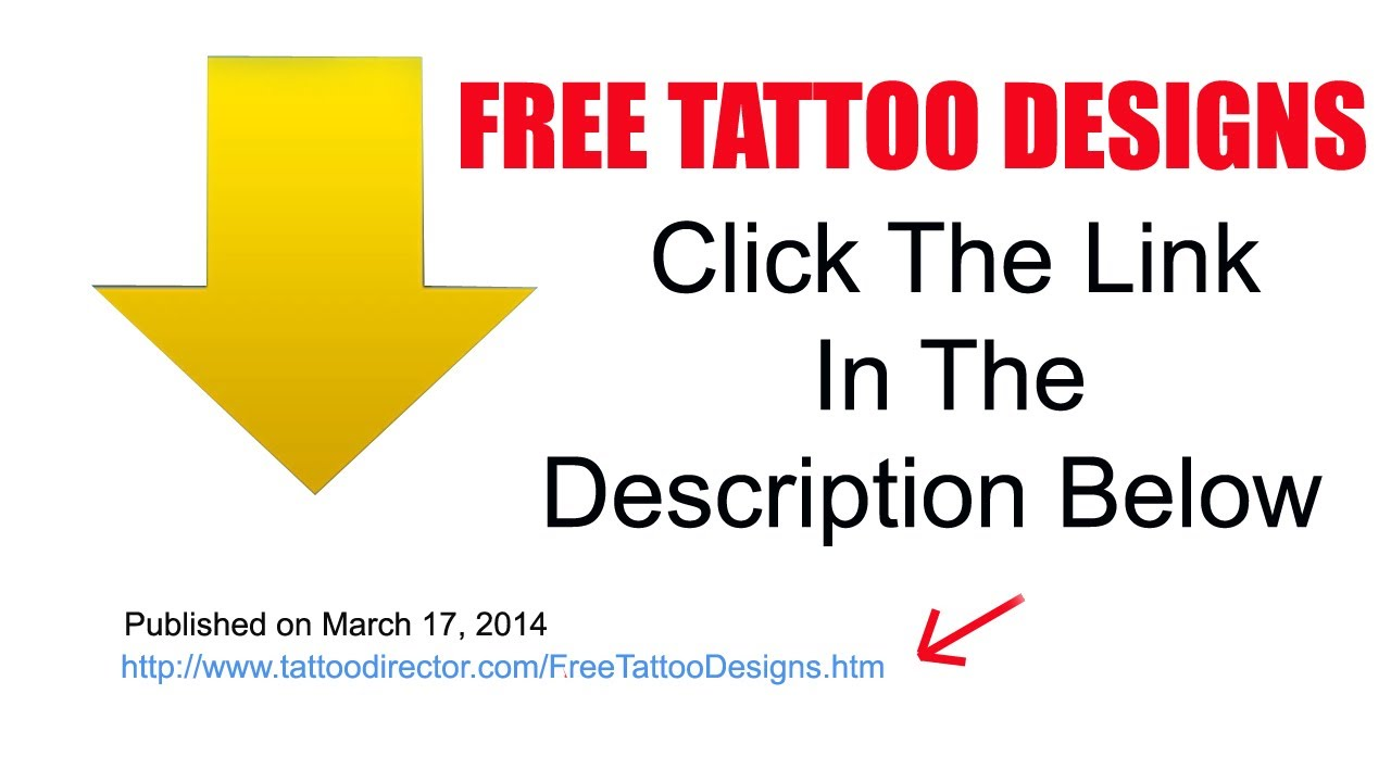 Free Tattoo Designs Download Free Tattoo Designs - YouTube