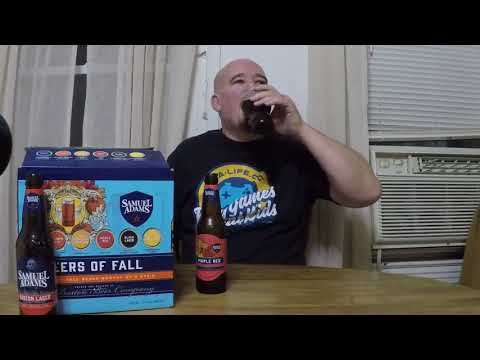 Samuel Adams Beers of Fall 2017 variety pack beer review