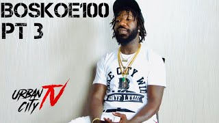 Boskoe100 discusses Beef with Daz Dillinger & Discusses relationship with Suge Knight (Part 3 of 4)