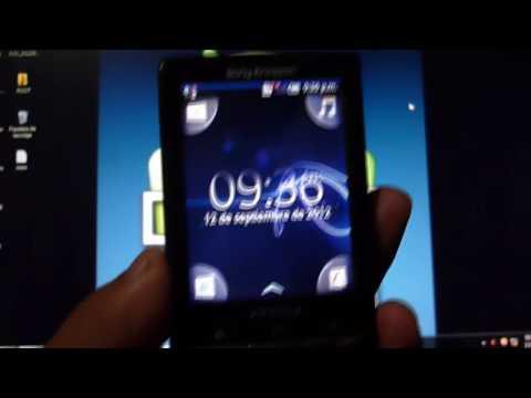 Instalar Android 2.1 Oficial en Xperia X10 Mini (Firmware 2.1.1.A.0.6)