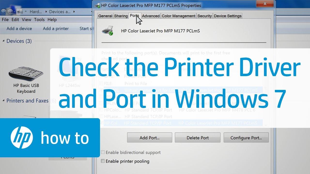 Check Printer Driver Windows 8