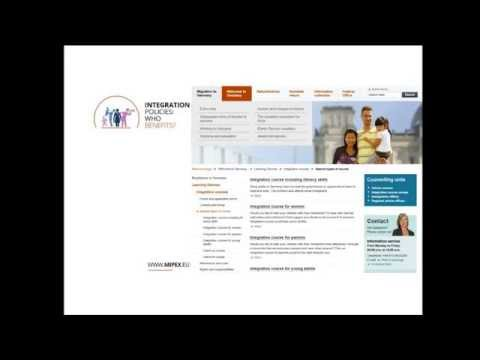 Webinar: MIPEX 2015 Measuring Immigrant Rights and Opportunities