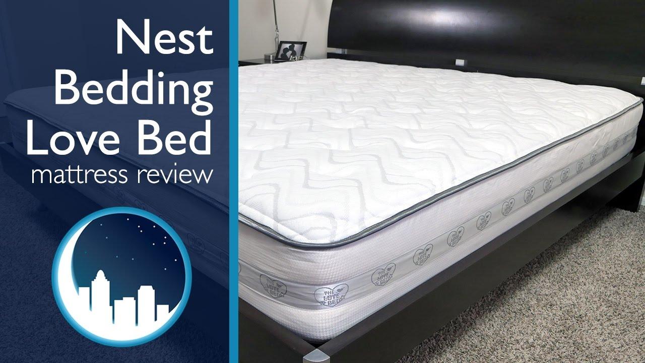 nest bedding love bed mattress review