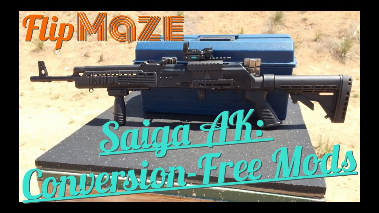 Saiga, caliber 7,62x39, ver  02 - REPUBLIC ARMS Ltd