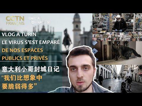 Le virus s'est emparé de nos espaces publics et privés, raconte un italien de Turin.