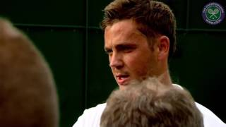 Moment of victory for world No.775 Marcus Willis