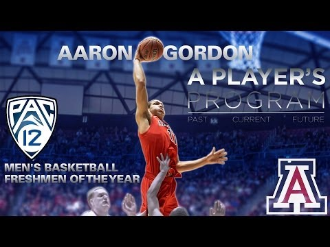 Aaron Gordon Pac-12 Freshman of the Year