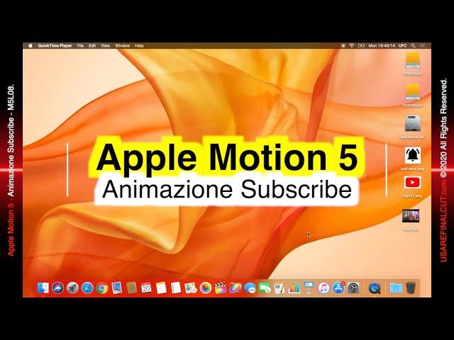 MOTION 5 L08EX ANIMAZIONE SUBSCRIBE