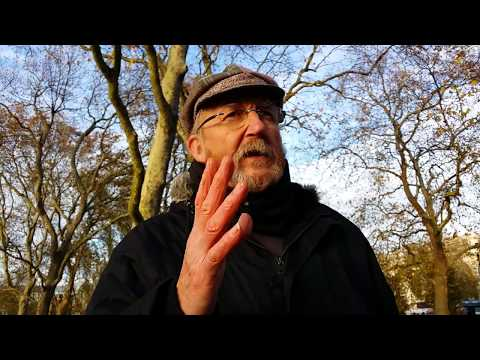 Man of God - Television - Speakers Corner Hyde Park London 19-11-17.