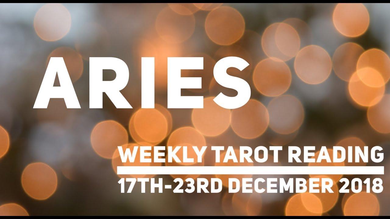 aries weekly tarot december 2019