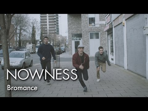Bromance: Acrobatic male bonding on the streets of London