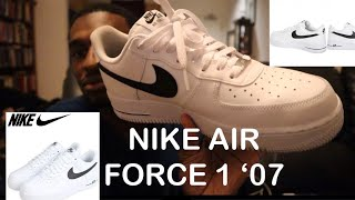 NIKE AIR FORCE 1 '07 REVIEW + ON FEET