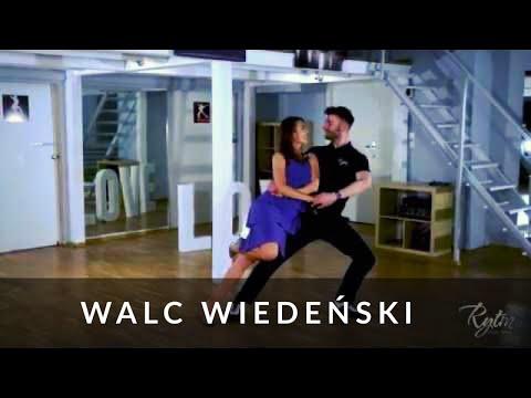 walc wiedeński - podstawy - lekcja tańca - Studio Tańca Rytm I Viannese Waltz tutorial in Polish