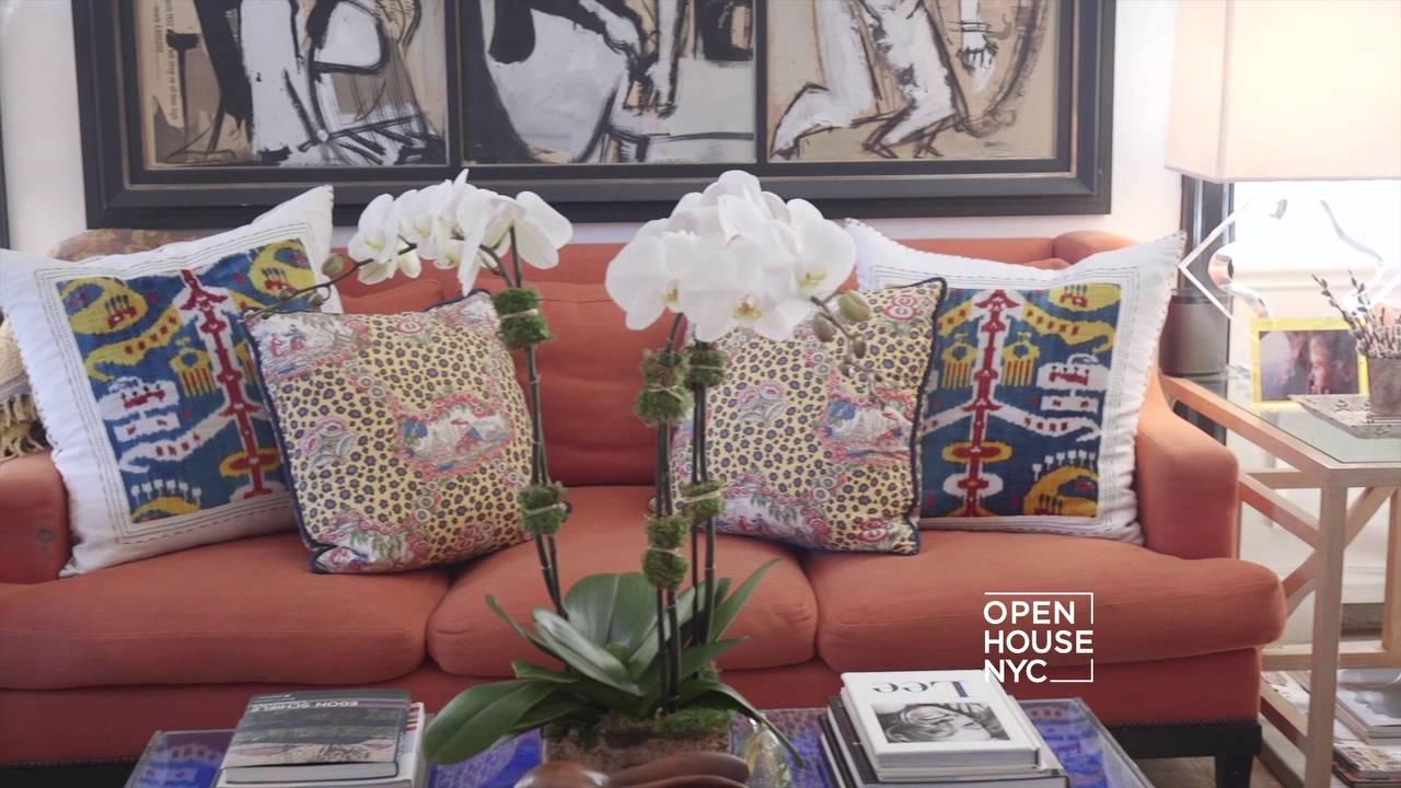 Inaside the Stylish Home of Fashion Designer Nicole Hanley - YouTube