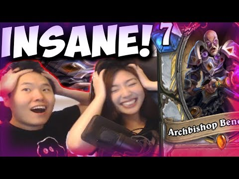 ARCHBISHOP BENEDICTUS + ZOLA THE GORGON = ENDLESS GAME FT. XCHOCOBARS | THE WITCHWOOD | HEARTHSTONE