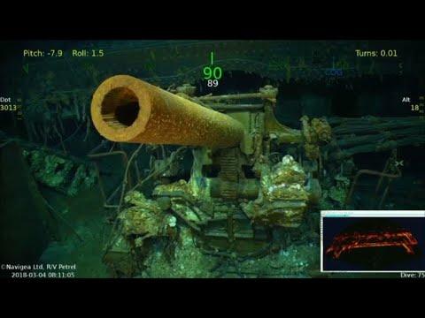 Wreckage found of WWII aircraft carrier USS Lexington