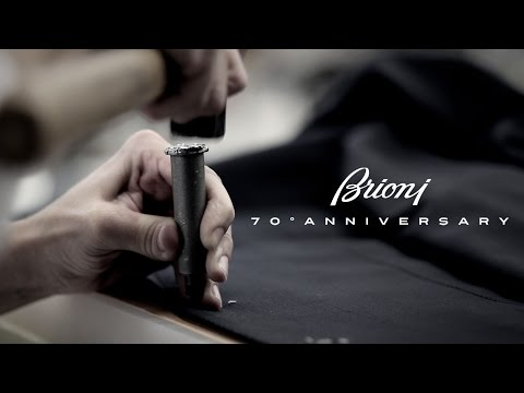 Brioni | Roma 45 | The Making of the 70th Anniversary Suit  by Aaron Olzer