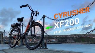 Cyrusher XF200 Step-Through City Electric Bike Reveiw 2021