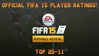 Fifa 15 Official Player Ratings | Top 20-11 ft. Bale, Thiago Silva & Falcao! Thumbnail