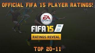 Fifa 15 Official Player Ratings | Top 20-11 ft. Bale, Thiago Silva & Falcao! Thumbnail