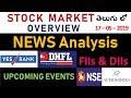 #27 Stock Market NEWS Analysis(Telugu)   Yes Bank   DHFL   NSE   Aurobindo