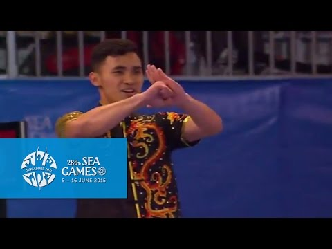 Wushu - Men's Optional Cudgel (Day 2) | 28th SEA Games Singapore 2015
