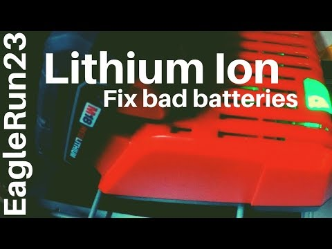 How To Fix Lithium Cordless Drill Battery Packs