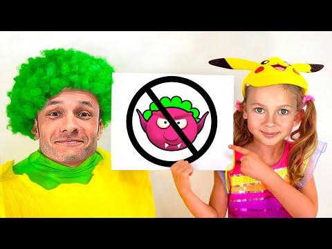 Видео: Правила поведения для детей - Детская песня. Песни для детей от Майи и Маши