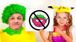Правила поведения для детей - Песня для детей | Детские песни от Майи и Маши