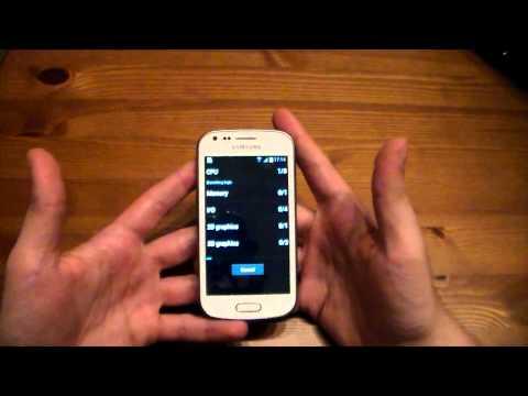 Samsung Galaxy Trend TÜRKÇE Sistem Testi