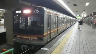 大阪市営地下鉄堺筋線 66系 堺筋本町駅発車