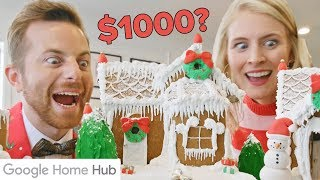 HomeCooked Vs 1000 Gingerbread House